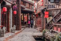 Square Street Shuhe Ancient Town